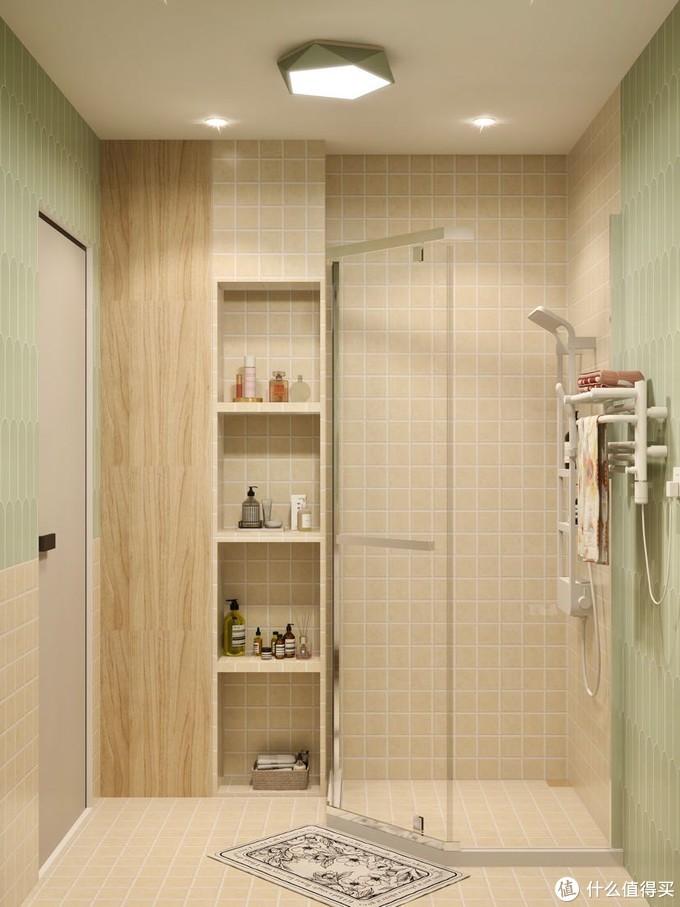 清新配色|把春天搬进浴室,智能马桶清新空气