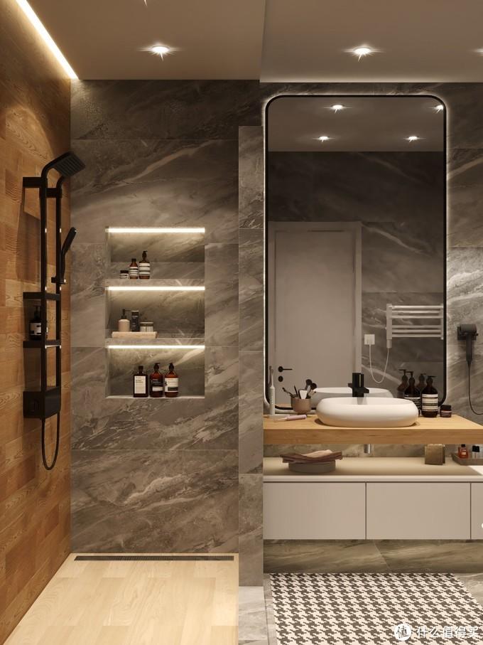 浴室装修选对花洒🚿,每天回家洗10次✨