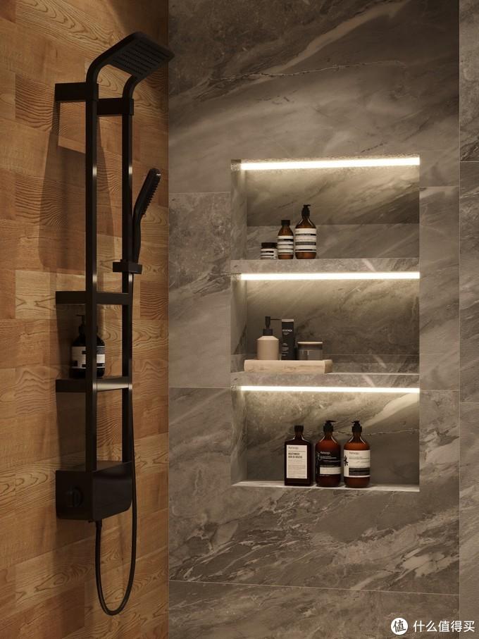 白色轻奢浴室🛀|高颜值智能马桶选对了✨