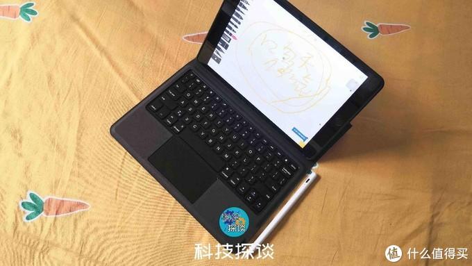 搬砖人必备iPad生产力配件:SMORSS无线蓝牙iPad键盘保护套开箱