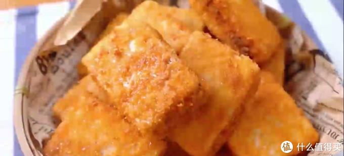 自制黄金芋夹,金黄酥脆的外皮,香芋粉嫩入味