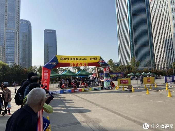 难得的好天气,萧山联合会杯平衡车大赛
