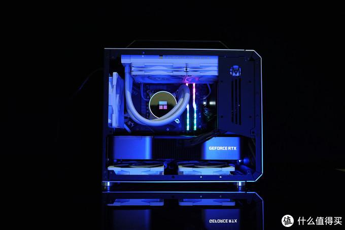 基于机械大师C28机箱打造一体水冷10700k+3090渲染主机