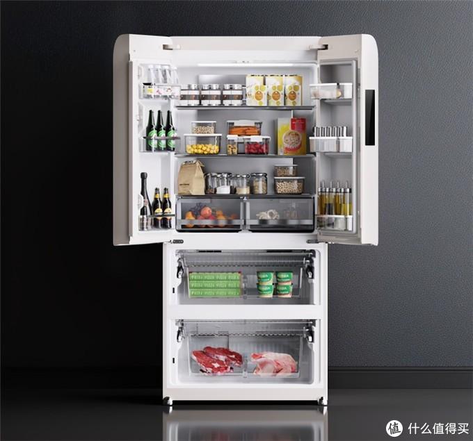 有品开卖小吉448L四门大冰箱;人民网痛批快手辛巴