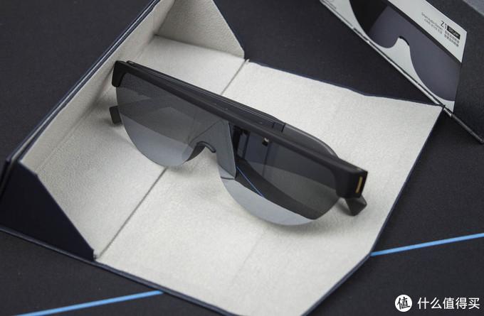 新奇体验:雷柏智能穿戴Z1智能眼镜开箱体验