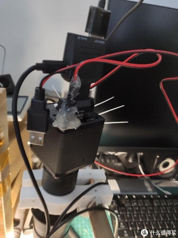 150块超低成本''DIY''一台数码显微镜