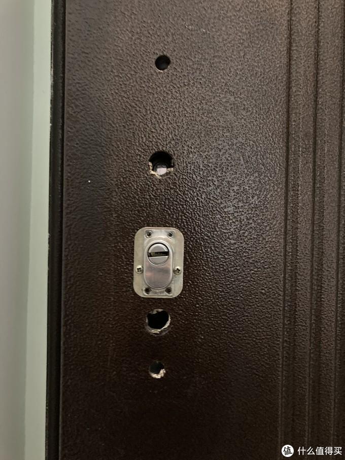 聊下防盗门锁体的更换