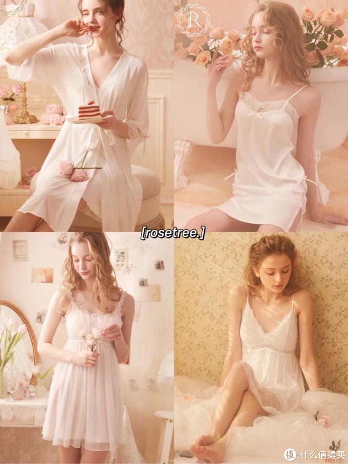 仙女的丝滑睡衣睡裙 仙气飘飘  男朋友超爱