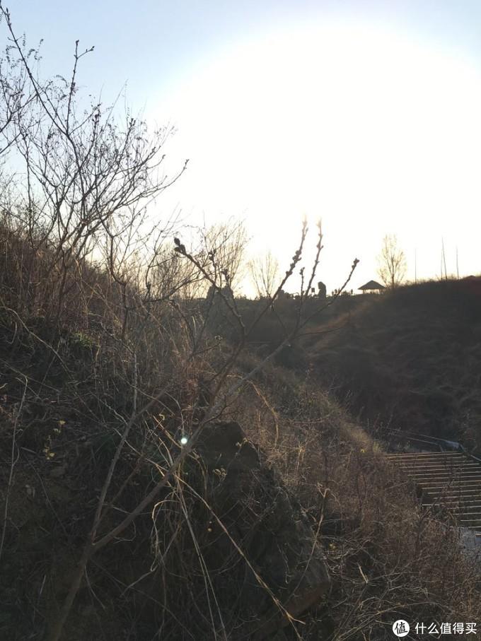 走到太阳光线变得温柔,山谷里修建了步道,部分地方还是有流水的。不至于那么荒凉。