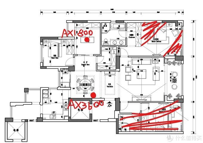 买展示台送路由 小米AX9000 开了个箱,顺便和AX3600AX1800混合组mesh