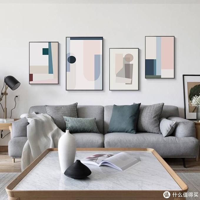 又美又有格调的莫兰迪色装饰画,你家还没装吗?