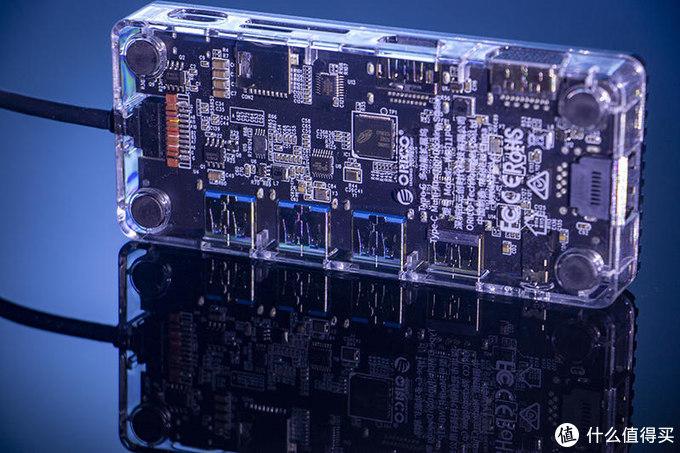 洞穿高速的真谛,ORICO透明版十一合一多功能扩展坞评测
