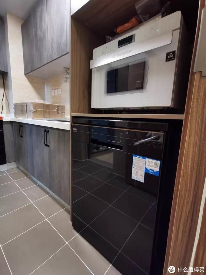 这个演示是海尔洗碗机EW150266BKT。