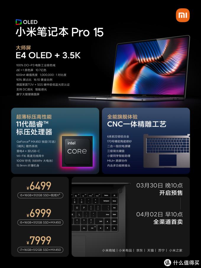 小米笔记本Pro 15 OLED评测:我用过最好的商务轻薄性能本