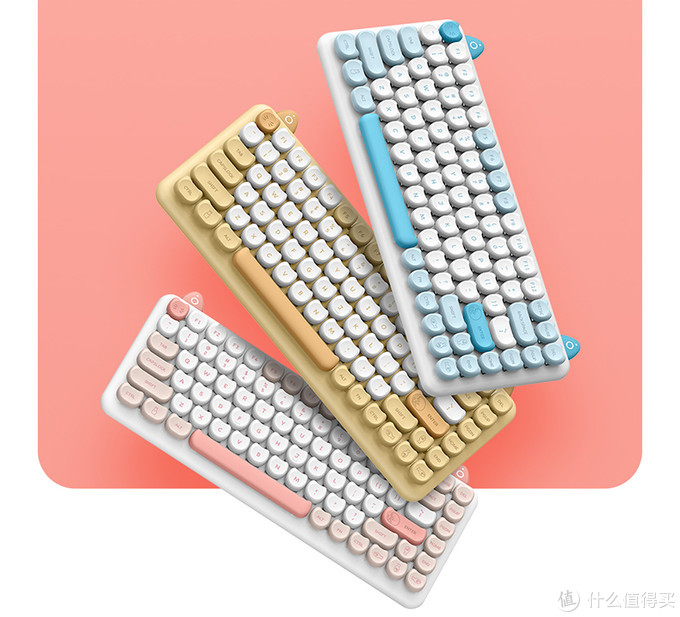 键盘也可以这么萌?IQUNIX M80无线蓝牙机械键盘体验分享!