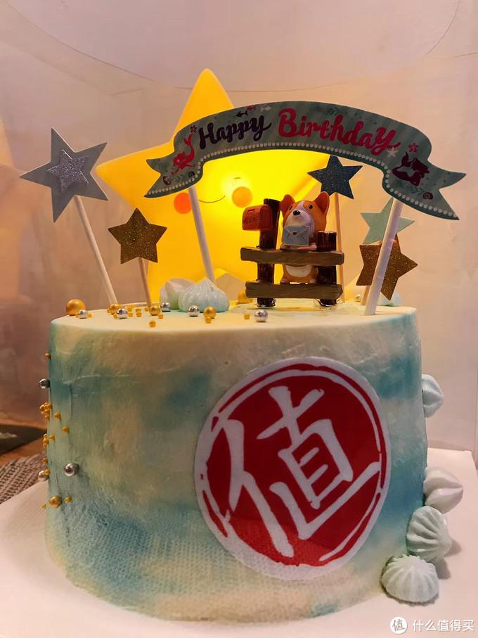 """这种""""本站专属""""的蛋糕就是出自有才的她之手"""