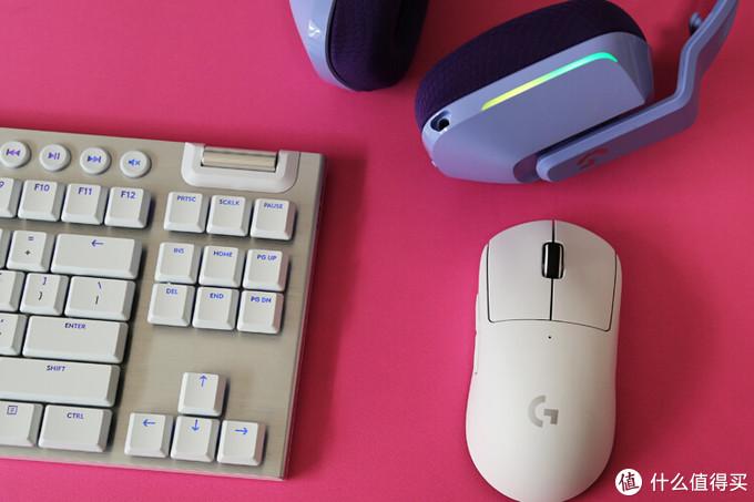 【梦想无线桌面】外设教皇:罗技PRO X superlight鼠标 G913tkl白色机械键盘