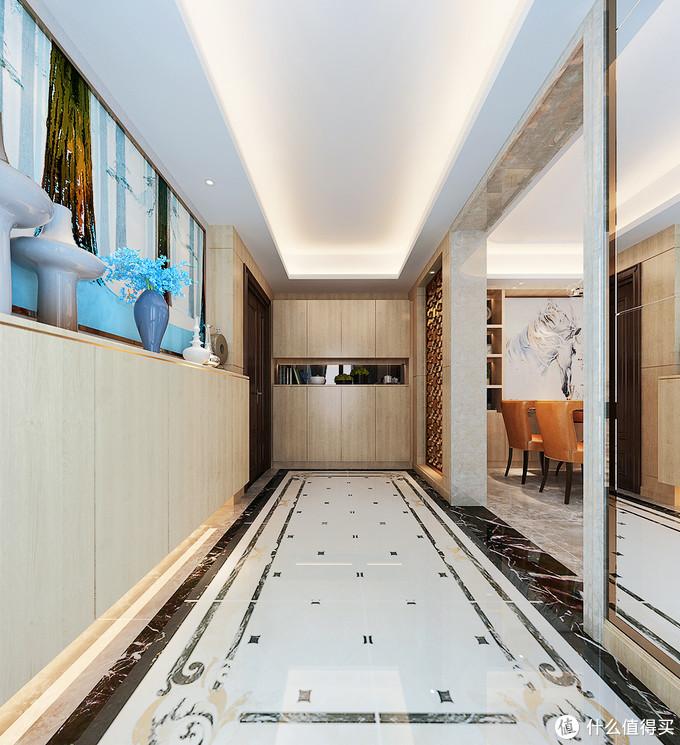 把新家装成港式风格,打开入户门就被深深吸引,画面感太过于温馨