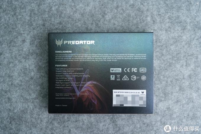 首发!高端电竞内存条再添一将,Predator Apollo RGB 8x2 3600评测