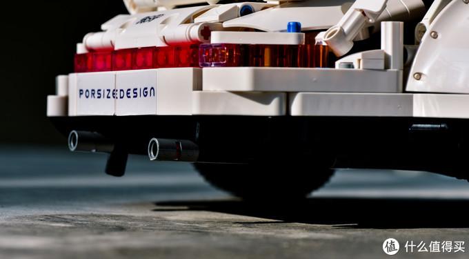 全网首发 俄罗斯MOC大神极致还原超级跑车保时捷911 订制宽体铆钉积木件-悦创积木