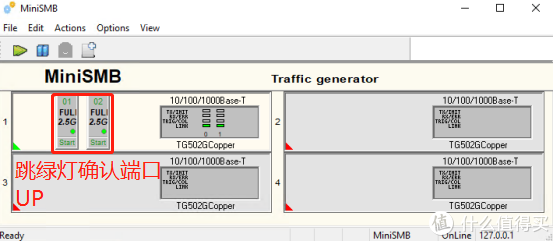 MiniSMB网络测试 - 免费专业的2.5g网卡测试方案