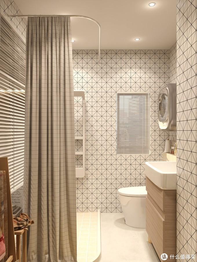 治愈✨享受温馨浴室,智能马桶幸福如厕