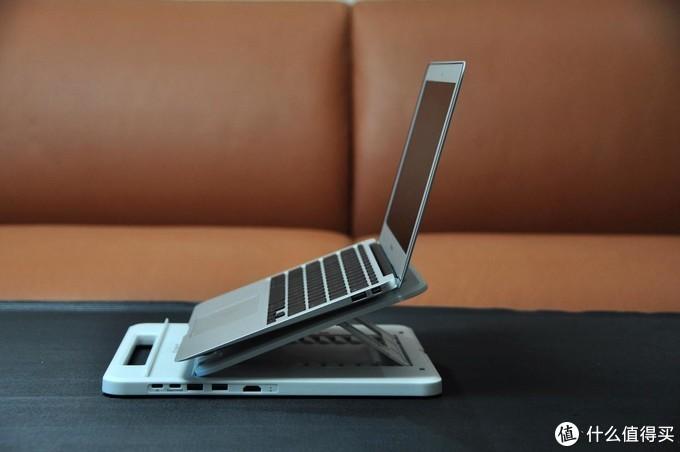 七档可调的ORICO笔记本支架,扩展坞都省了!