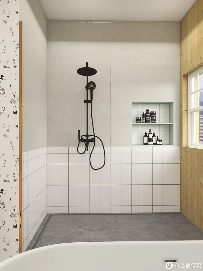 属于仙女的小清新浴室风格,把春天搬回家