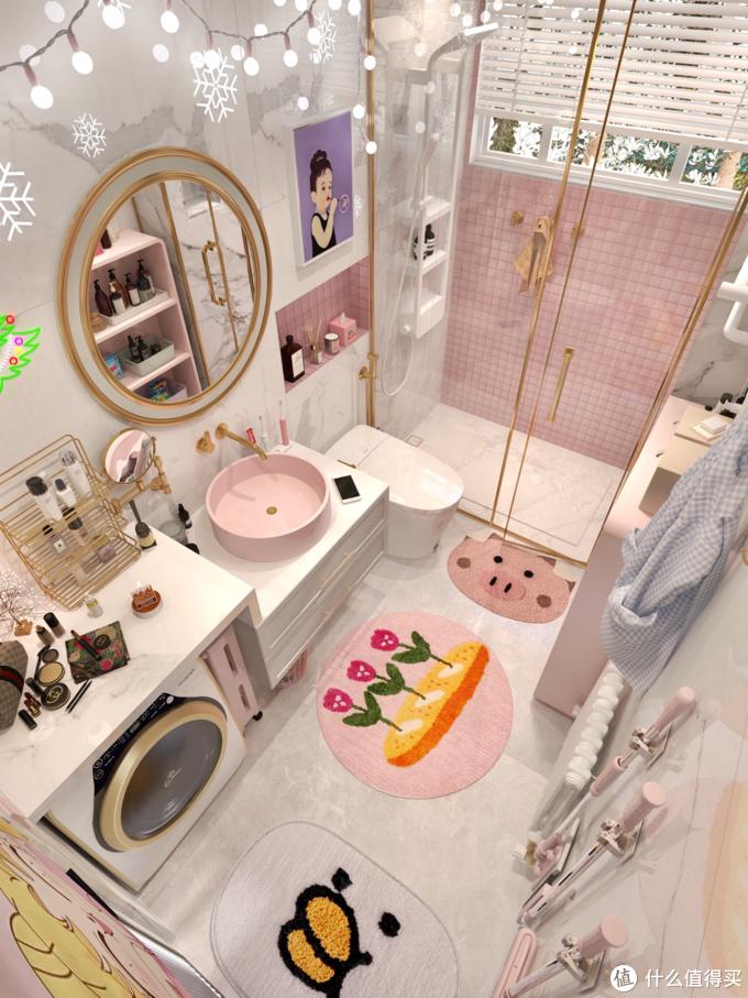 花洒换新✨浴室变成我用不起的样子