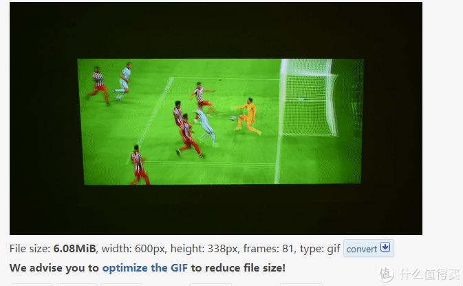 下方会显示做好的GIF,还有大小和帧数等数据显示。