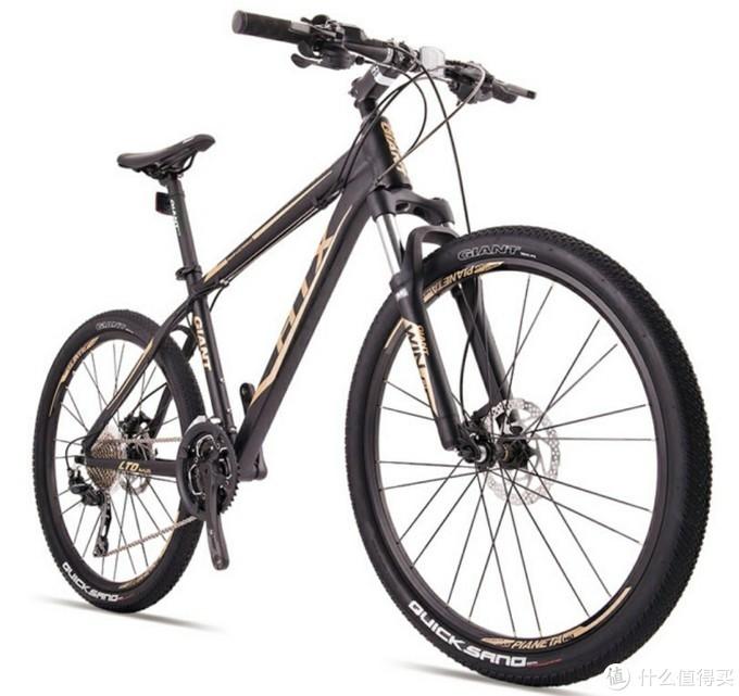 自行车入坑第一步,捷安特山地