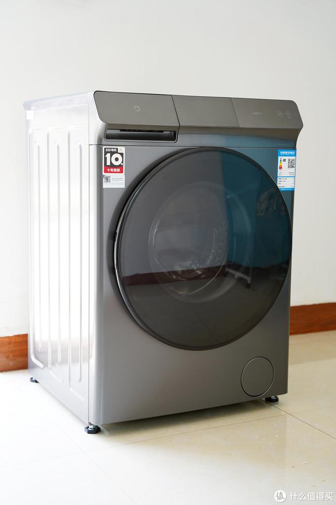 和干衣机说拜拜!米家直驱洗烘一体机10kg评测