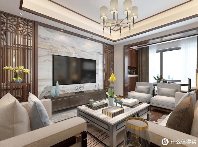 这样的中式风格装修,符合三代人的审美观,不仅有文化感还有品味