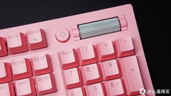 征服你的少女心,雷蛇Razer 2021款黑寡妇V3粉晶键盘开箱评测