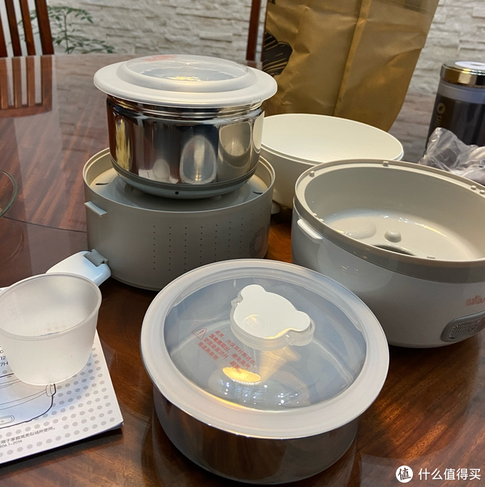 小熊多功能电热饭盒评测,营养午餐全满足