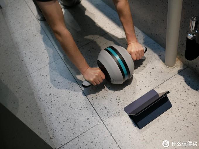 我的新生活:居家也能畅快健身,YESOUL野小兽智能健腹轮J20使用体验