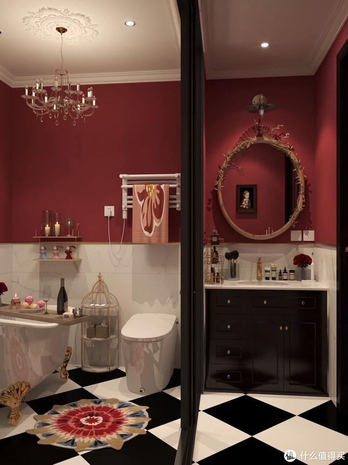 分享我家的卫生间设计 实用又好看的小细节