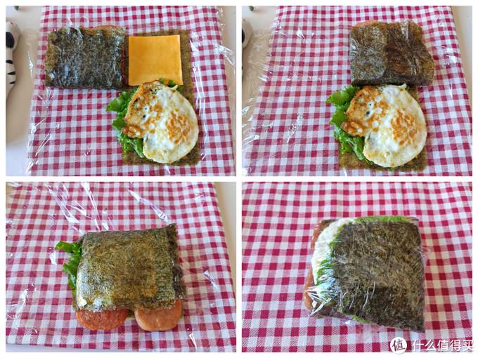 春游季节不可错过,火爆网络的折叠饭团,顶饱又好吃,简单易做
