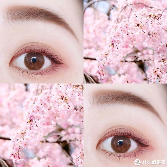 日系甜美春日3步打造樱花眼妆,超适合新手!