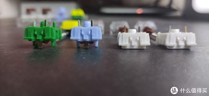 客制化键盘如何选装提前段落类轴体?凯华Box茶轴VS金丝雀轴VS杜若轴