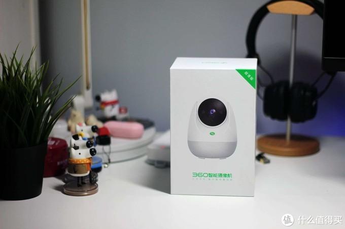2.5K超清画质,一键呼叫,智能声光报警 - 360摄像机云台7C超清版