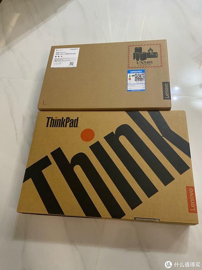 开箱后是联想的牛皮纸盒,保护的都挺到位