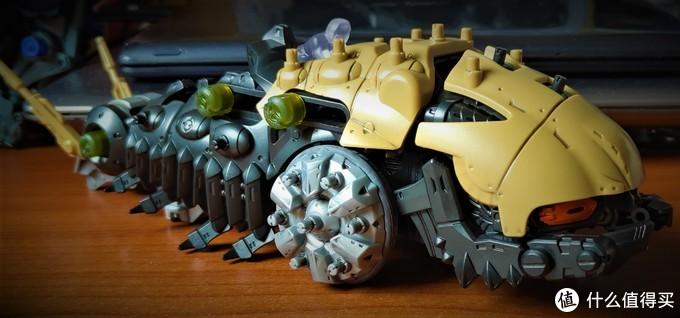 勤勤恳恳负重前行——Zoids Wild 索斯机械兽 ZW17 蚕车兽