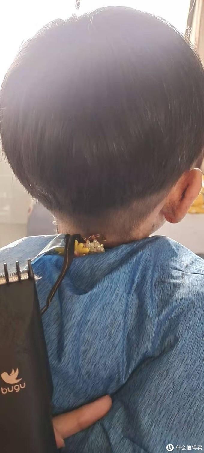 儿子的发型我做主,自购理发器DIY发型!
