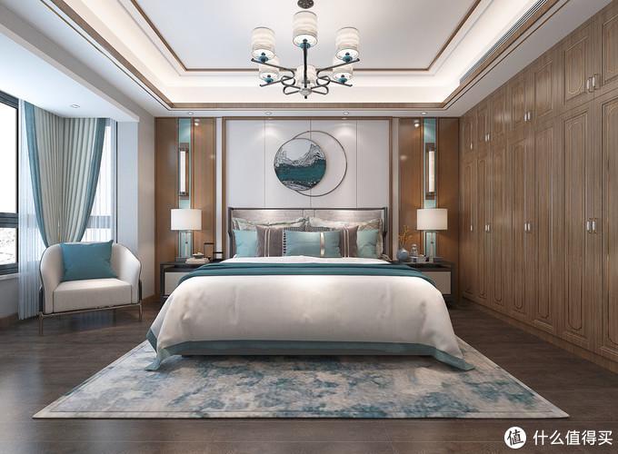 深圳工作夫妻回河源买200㎡大平层,装新中式风格,木色系很有特色