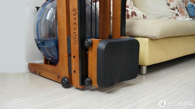 小平米住户也能在家健身:野小兽智能划船机R30折叠款评测