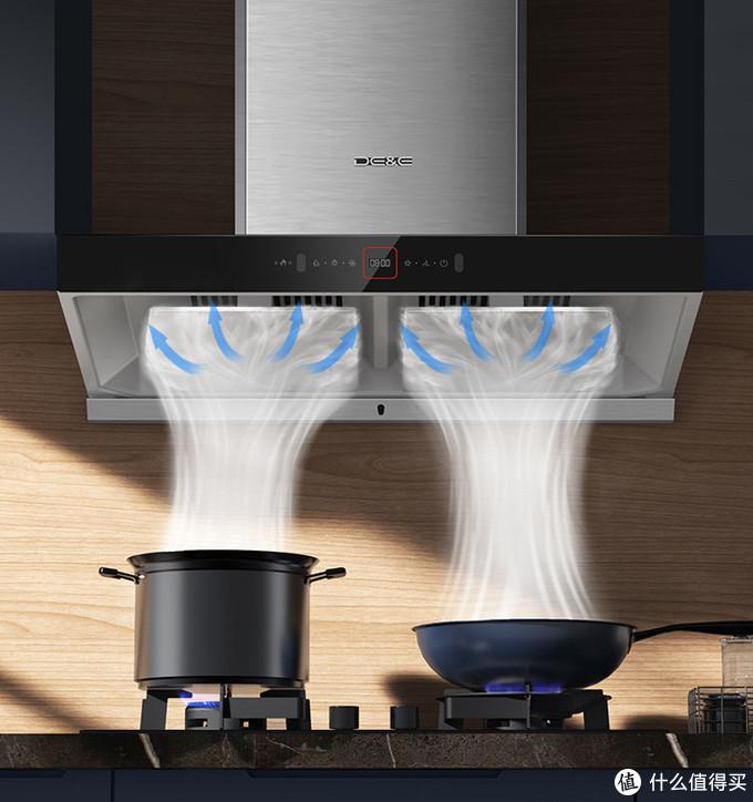 一套烟灶能否解决中式烹饪中的各种问题?答案在这里:德意油烟机+燃气灶