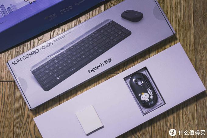 MK470乖巧宝宝联名款 无线键鼠套装 开箱