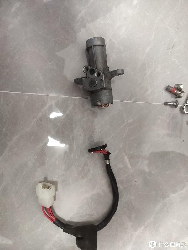 记五羊本田CB190ss电门锁修复过程
