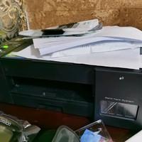 兄弟DCP-T425W彩色喷墨打印机效果展示